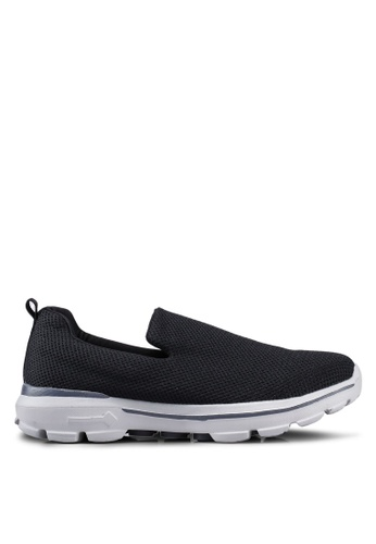 UniqTee black Lightweight Slip-On Sport Shoes 6A926SH129F1BCGS_1