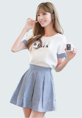 19e395e8da72 Tee and Mini Skirt Twin Set
