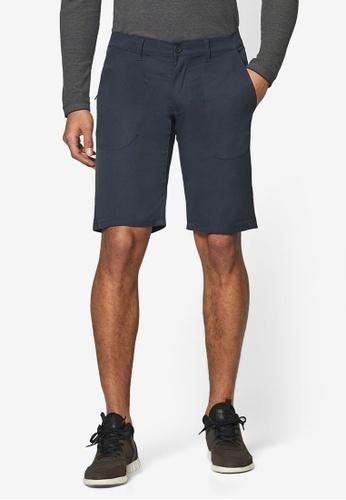 ESPRIT 海軍藍色 休閒短褲 E9921AAF6DBCF5GS_1