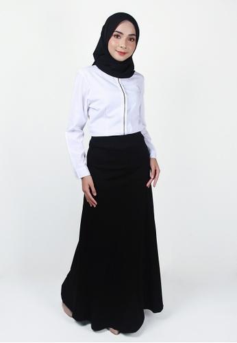 Ladies Jeans black Cosy Long Skirt AA79BAA9652E19GS_1