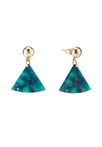 Red's Revenge green Jade Resin Dangle Earrings 5D028AC3B5F35FGS_1