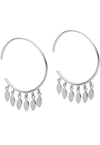 Pastiche silver Glimmered Sky Earrings DA04CAC9D440F7GS_1