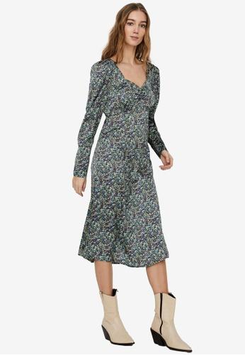 Vero Moda black Vita Long Dress DA6B8AADCBE981GS_1