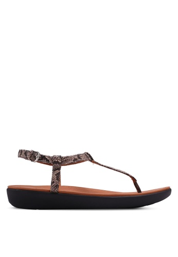 e91d6785299 Fitflop multi and brown Tia Toe-Thong Sandals 98479SH2F0D274GS 1
