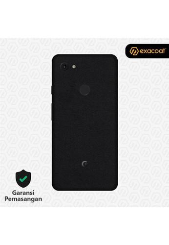 Exacoat Google Pixel 3a Skins Matte Black - Cut Only C101FESB78F691GS_1