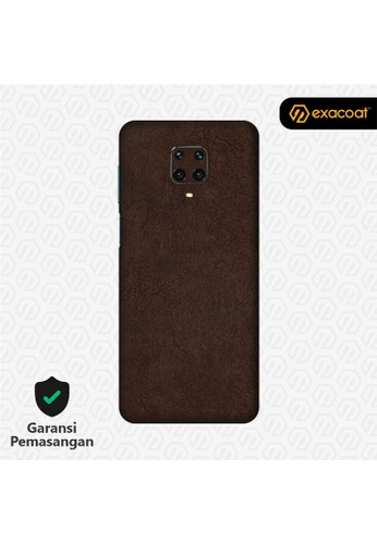 Exacoat Xiaomi Redmi Note 9 / Note 9 Pro 3M Skins Leather Series - Leather Brown FED0EESC06FB43GS_1