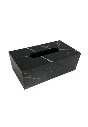 Maison Curio Devon Tissue Box Noir 17D12HL32530A6GS_1