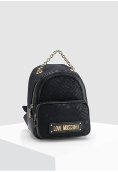 6b4e6f471eb1 Love Moschino. Tess Jacquard Backpack