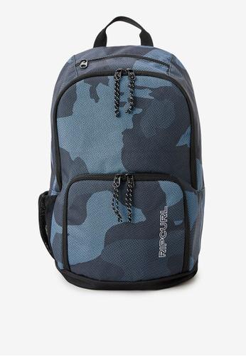 Rip Curl blue Evo 24L Camo Backpack 072EAAC3737857GS_1