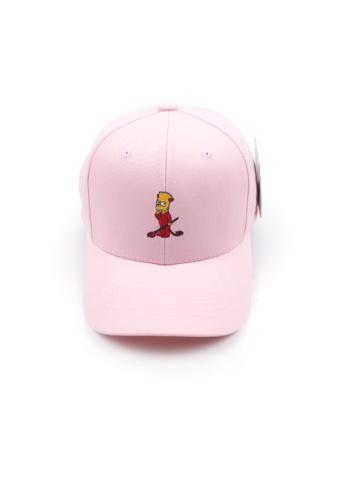 M-Wanted pink M.Bart Simpsons The Little Devil Baseball Cap A6EA0AC94821E7GS_1