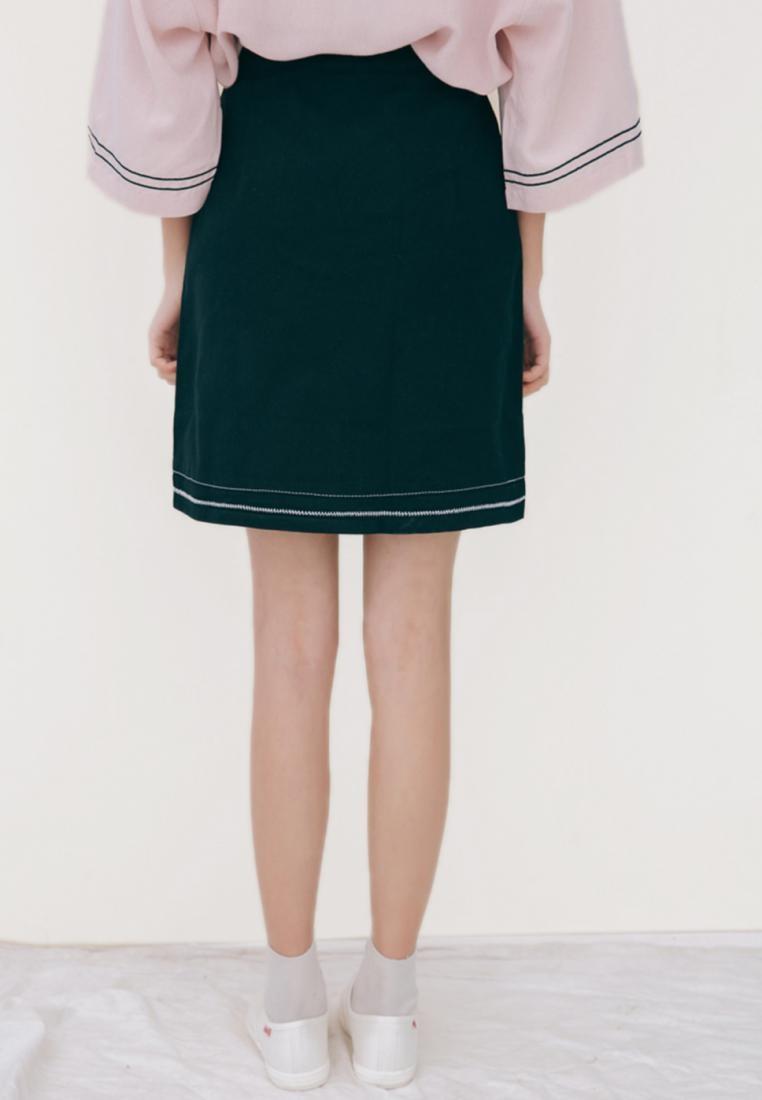 Ava Shopsfashion Black Skirt in Pencil Mini Black A4q0vw4