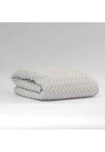 CANOPY grey Dyckhof Bath Towel Gray 7882AHL37053C0GS_1