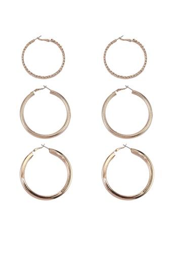 ALDO gold Gilgandra Earrings Set 1A265AC932CA38GS_1