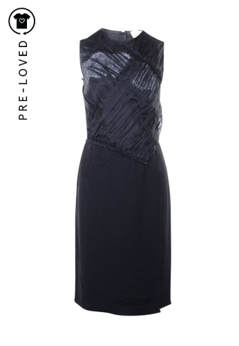 3.1 Phillip Lim black Pre-Loved 3.1 phillip lim Black Dress With Lace Details 8DF12AAA14F472GS_1