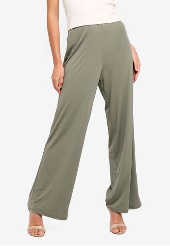 Supre green Luxe Set High Waist Wide Leg Pants E86DDAA92F6031GS_1