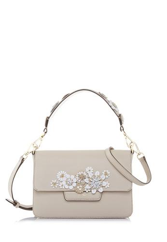 BONIA beige Beige Botanica Shoulder Bag S D5DB1AC0113EAEGS_1