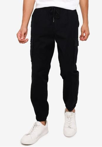Gap black Cargo Jogger Pants C121DAA256B295GS_1