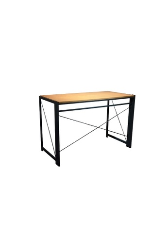 AMERCIS brown Amercis Vogue Folding Table 0A837HLBD57A4BGS_1