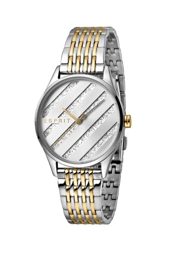 Esprit Watches silver ESPRIT Easy Ladies Silver Glitter Dial 40831ACB827CE8GS_1