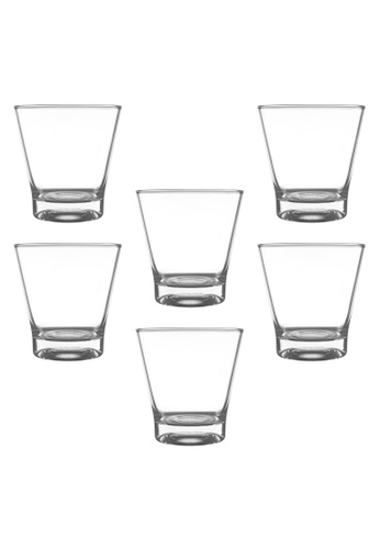 Union Glass n/a Thailand Premium Clear Glass Rock Glass Water, Juice, Soda, Liquor Glass 345ml -12oz Set of 6 77C4DHL911806EGS_1