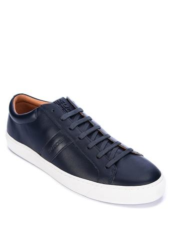 Jim Rickey navy Ace Lo Sneakers E9EA3SHA591A60GS_1