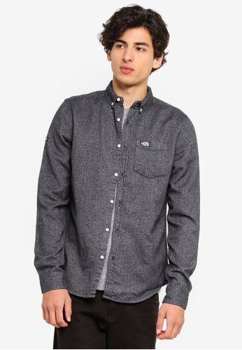 Superdry 灰色 Nordic Work Shirt 7DED6AAC632DCEGS_1
