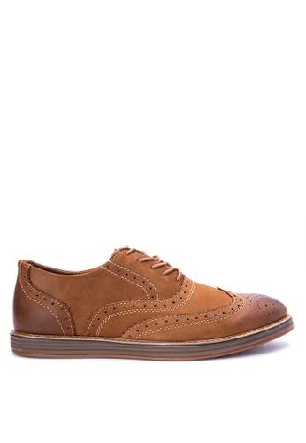 Mendrez brown Lucas Formal Shoes ME992SH0KFLIPH_1