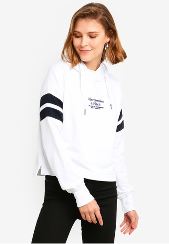 75dc14b9 Shop Abercrombie & Fitch Logo Popover Hoodie Online on ZALORA Philippines