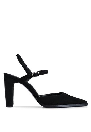 MANGO 黑色 繞踝高跟鞋 95D22SH85A0FFBGS_1