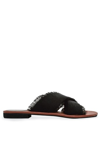 Urban Looks black Urban Looks - Audrey Black Sandals 5D584SHA65E9E9GS_1