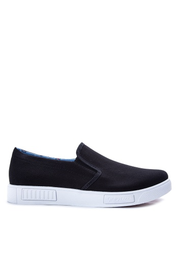 Preview black Slip on Sneakers PR211SH23IYAPH_1