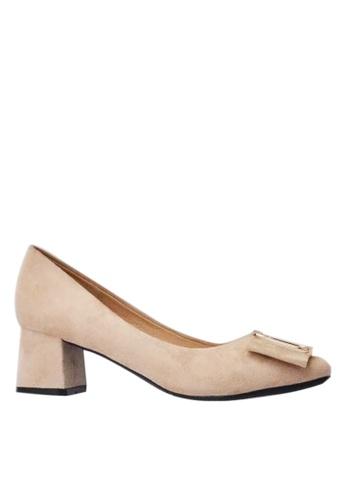 Twenty Eight Shoes Square Buckle Pumps 1270-16 C8345SHD6B7749GS_1