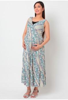 latch.a.babe Dharma Maternity Maxi Dress