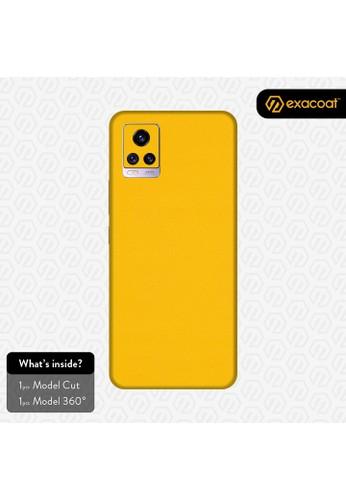 Exacoat Vivo V20 3M Skins True Colors - Lemon Yellow 05155ESF08CC68GS_1
