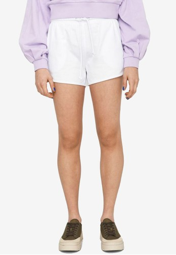 Noisy May white Ally Organic Cotton Shorts CA530AAAA8D3E1GS_1
