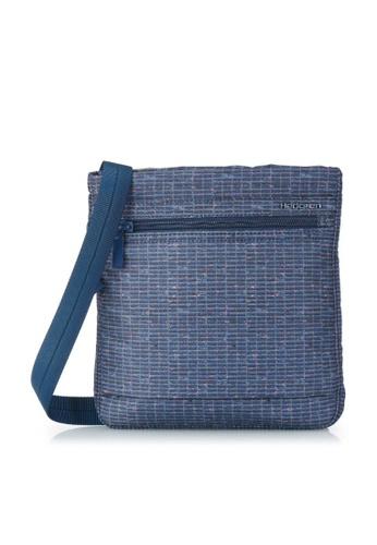 Hedgren blue Hedgren Women Leonce Small Vertical Crossover RFID Bag Winter Craft Print - 0.86L 7F0FCAC705C387GS_1