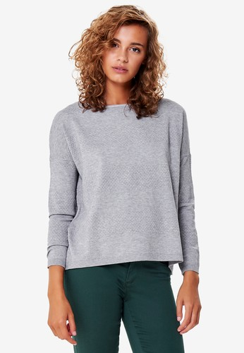 ONLY grey Brenda Long Sleeve Pullover B514EAA9DA2778GS_1