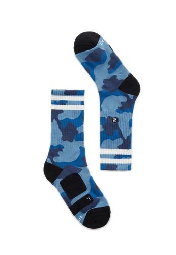 Life8 blue Sport Luminous Deodorant Socks-05264- Blue LI283AA0FUAFSG_1