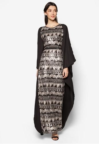 Aztec Sequin Kaftan, 服zalora 手錶飾, 長洋裝