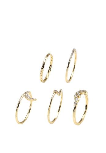 ALDO gold Larendaven Rings 9F1C2AC9347C96GS_1