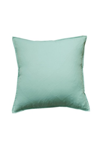 DILAS HOME Basic Lightweight Cushion Cover (Mint Green) 100EFHL8A3BE12GS_1