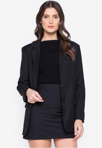 Susto The Label black Belle Blazer And Skirt Set 76A35AAE4D7DEFGS_1