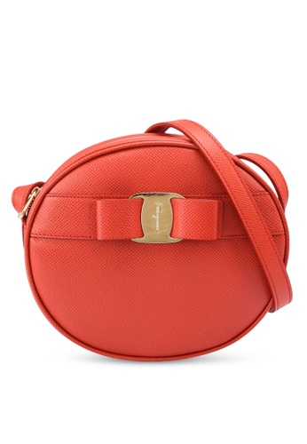 Ferragamo orange Vara Bow Mini Bag (oc) 23390AC7F44E70GS_1