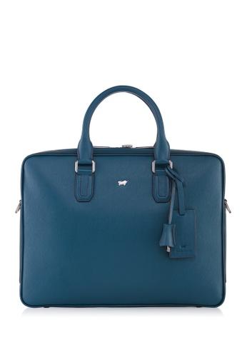 Braun Buffel green Homme-M Briefcase 59648ACE1B7AB1GS_1