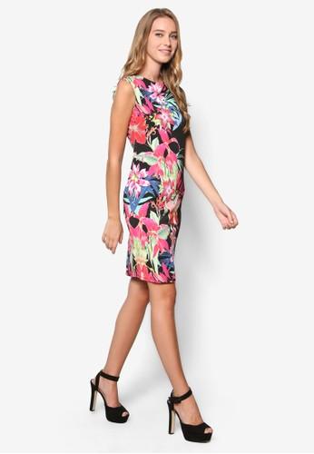 Petite 植物印花洋裝,esprit outlet台北 服飾, 洋裝