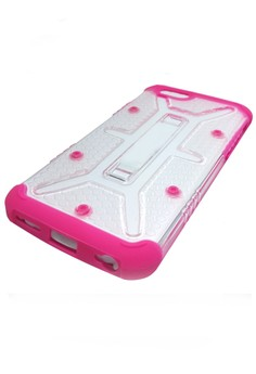 Shockproof Armor Case for Apple iPhone 6 Plus (Crystal/Pink)