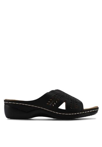 Alfio Raldo black Slip On Sandals 3B4B2SH5A8AE49GS_1