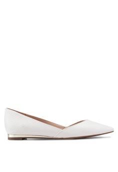 5cc3143b4ecae ALDO white Eowalidda Ballerina Flats 4B8B6SH3BE4295GS 1