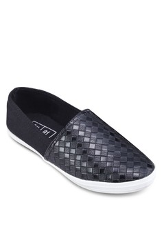 Mixed Material Slip On