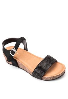 Joy Wedge Sandals
